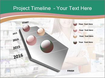 Woman Pharmacist PowerPoint Templates - Slide 26