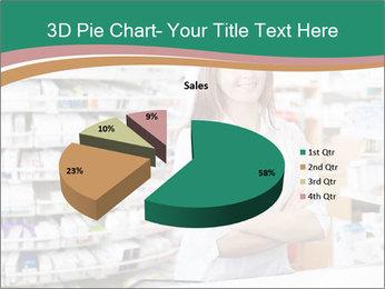Woman Pharmacist PowerPoint Templates - Slide 35