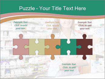 Woman Pharmacist PowerPoint Templates - Slide 41