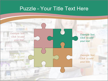 Woman Pharmacist PowerPoint Templates - Slide 43