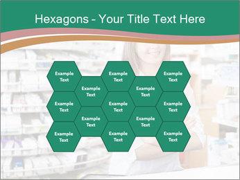 Woman Pharmacist PowerPoint Templates - Slide 44