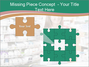 Woman Pharmacist PowerPoint Templates - Slide 45