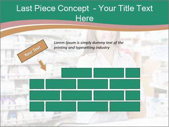 Woman Pharmacist PowerPoint Templates - Slide 46
