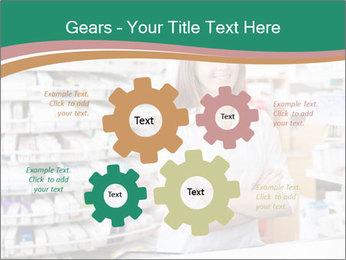 Woman Pharmacist PowerPoint Templates - Slide 47