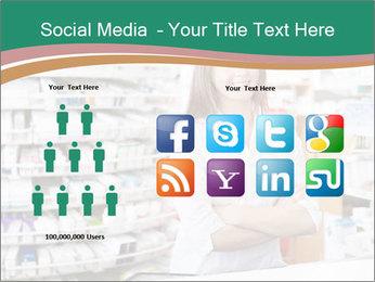 Woman Pharmacist PowerPoint Templates - Slide 5