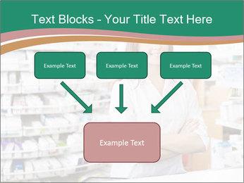 Woman Pharmacist PowerPoint Templates - Slide 70