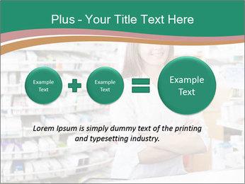 Woman Pharmacist PowerPoint Templates - Slide 75