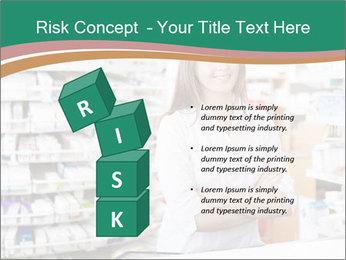 Woman Pharmacist PowerPoint Templates - Slide 81