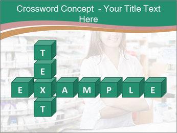 Woman Pharmacist PowerPoint Templates - Slide 82