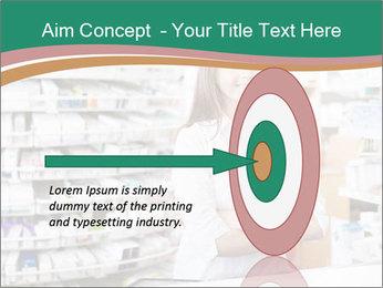 Woman Pharmacist PowerPoint Templates - Slide 83