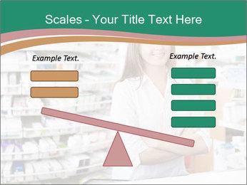 Woman Pharmacist PowerPoint Templates - Slide 89