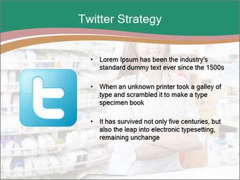 Woman Pharmacist PowerPoint Templates - Slide 9