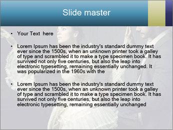 Ball Dance PowerPoint Template - Slide 2