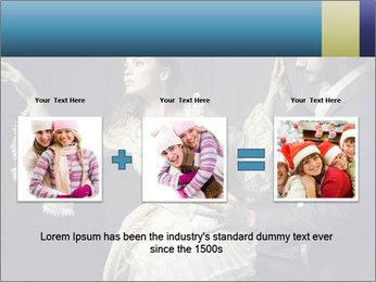 Ball Dance PowerPoint Template - Slide 22