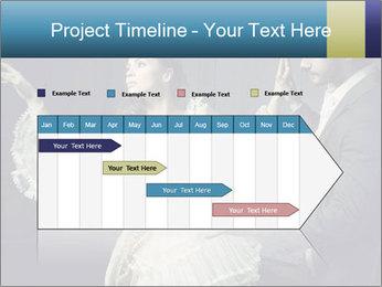 Ball Dance PowerPoint Template - Slide 25