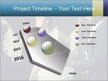 Ball Dance PowerPoint Template - Slide 26