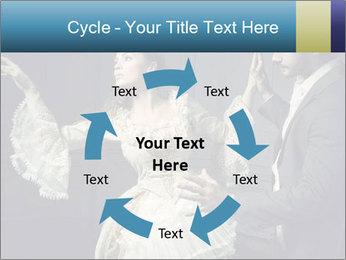 Ball Dance PowerPoint Template - Slide 62