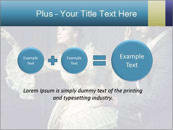 Ball Dance PowerPoint Template - Slide 75
