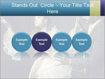 Ball Dance PowerPoint Template - Slide 76