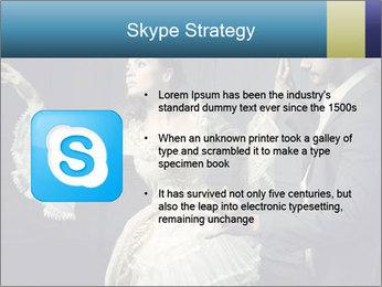 Ball Dance PowerPoint Template - Slide 8