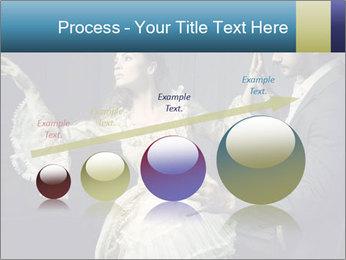 Ball Dance PowerPoint Template - Slide 87