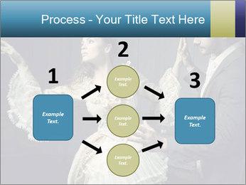 Ball Dance PowerPoint Template - Slide 92