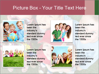 Funny Small Kids PowerPoint Template - Slide 14