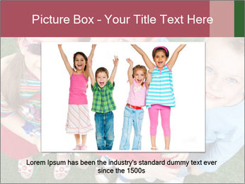 Funny Small Kids PowerPoint Template - Slide 16
