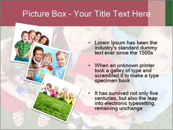 Funny Small Kids PowerPoint Template - Slide 17
