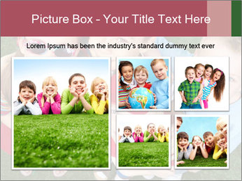 Funny Small Kids PowerPoint Template - Slide 19