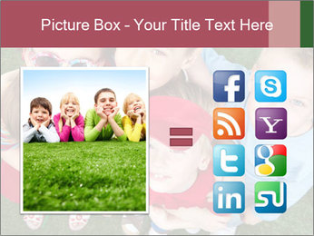 Funny Small Kids PowerPoint Template - Slide 21