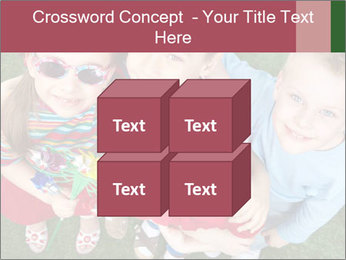 Funny Small Kids PowerPoint Template - Slide 39