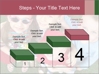 Funny Small Kids PowerPoint Template - Slide 64