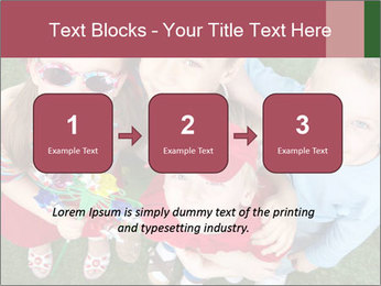 Funny Small Kids PowerPoint Template - Slide 71