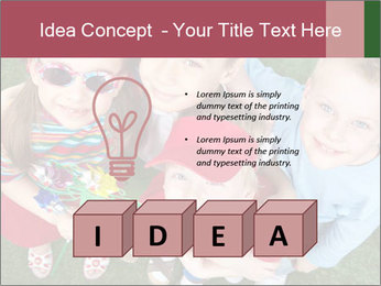 Funny Small Kids PowerPoint Template - Slide 80