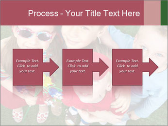 Funny Small Kids PowerPoint Template - Slide 88