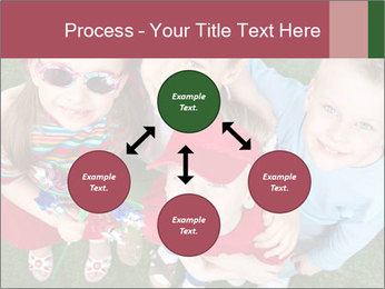 Funny Small Kids PowerPoint Template - Slide 91