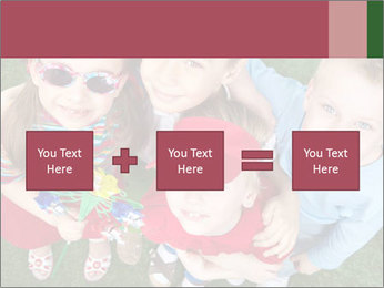 Funny Small Kids PowerPoint Templates - Slide 95
