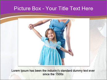 African American mother and daughter smiling PowerPoint Template - Slide 16