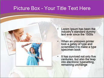 African American mother and daughter smiling PowerPoint Template - Slide 20