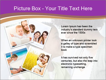 African American mother and daughter smiling PowerPoint Templates - Slide 23