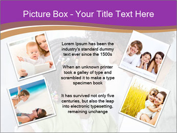 African American mother and daughter smiling PowerPoint Template - Slide 24