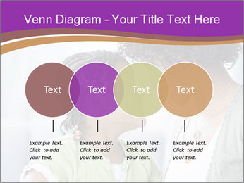 African American mother and daughter smiling PowerPoint Templates - Slide 32