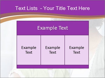 African American mother and daughter smiling PowerPoint Templates - Slide 59