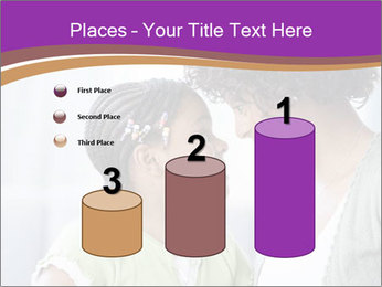 African American mother and daughter smiling PowerPoint Templates - Slide 65