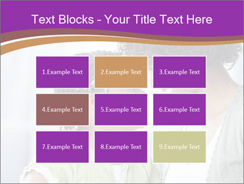 African American mother and daughter smiling PowerPoint Templates - Slide 68