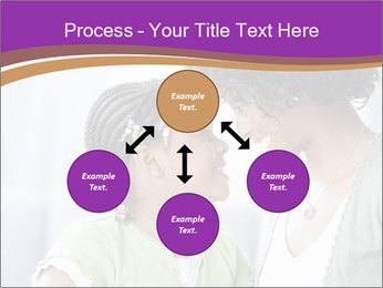 African American mother and daughter smiling PowerPoint Templates - Slide 91