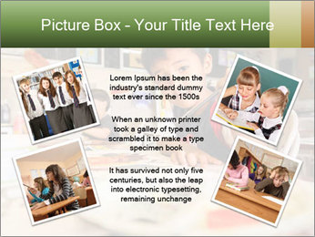 Drawing Class At School PowerPoint Template - Slide 24