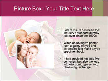 Girl With Pink Umbrella PowerPoint Template - Slide 20