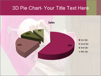 Girl With Pink Umbrella PowerPoint Template - Slide 35
